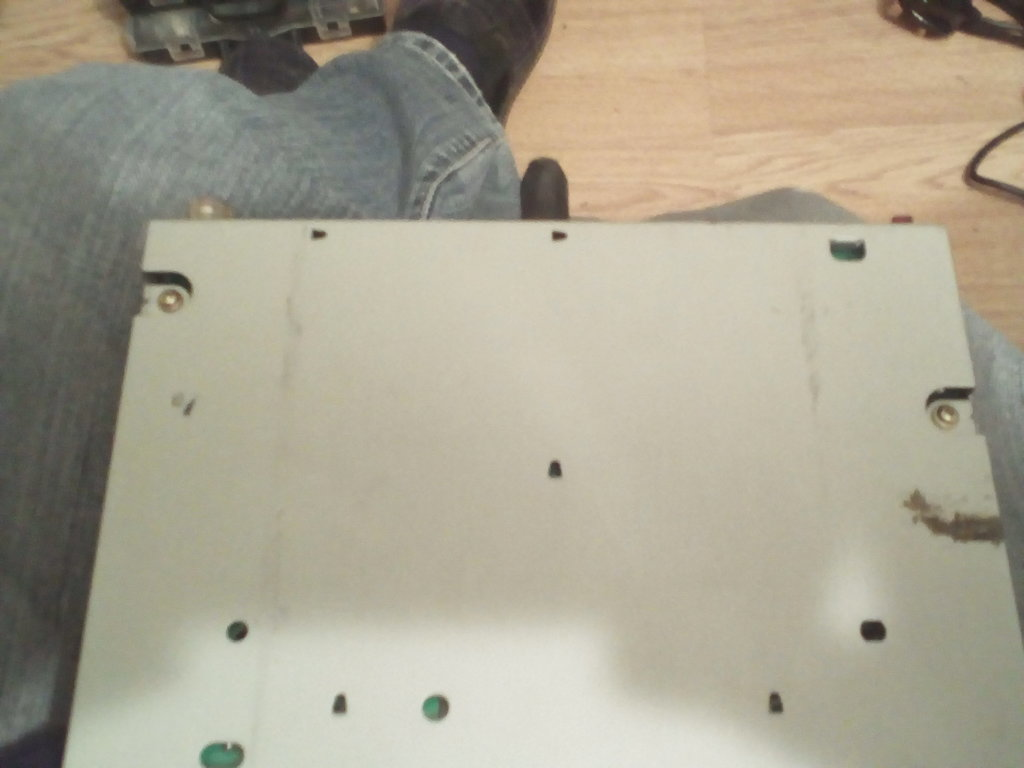 NOW COMES THE WIRING PART<br />TAKE OFF THE BOTTOM COVER REMOVING THE TWO SCREWS