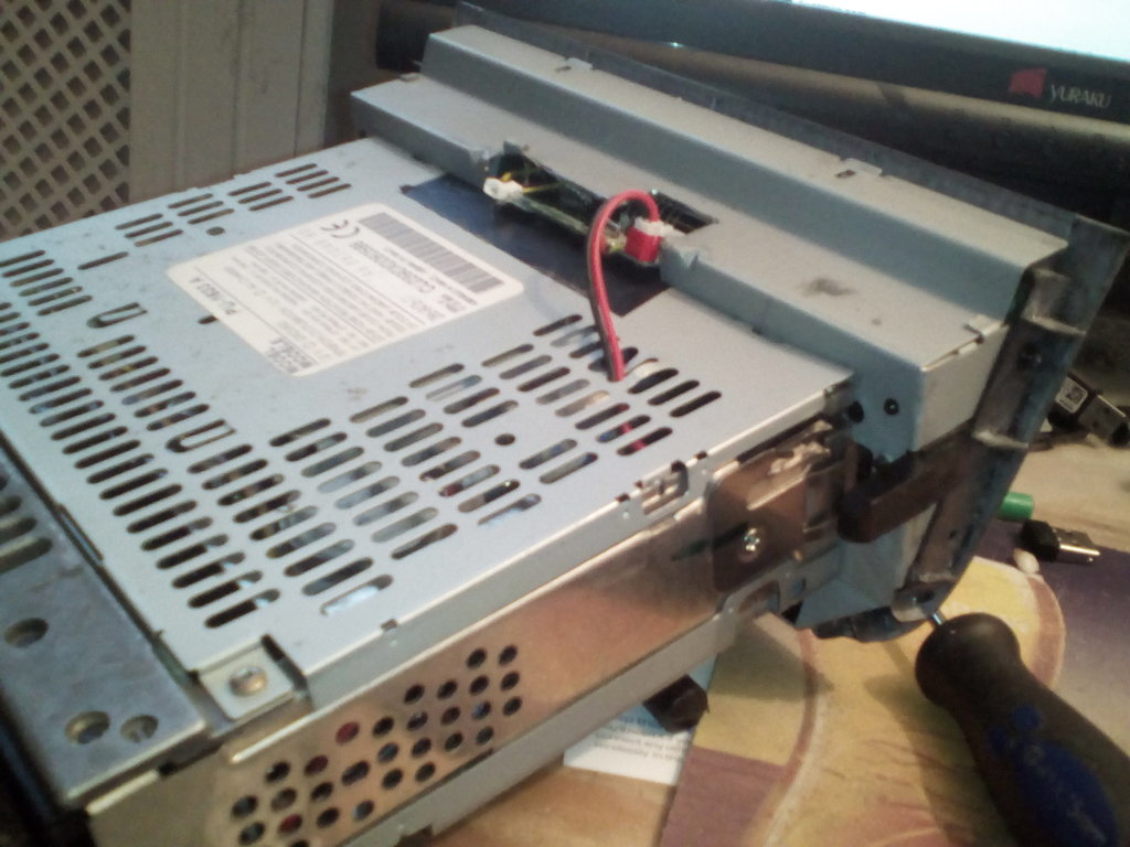 I ALSO PUT SOME TAPE OVER THE TOP COVER SO IT DOES NOT SHORT THE PCB AS ITS VERY CLOSE TO THE UNDERSIDE.